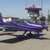 Flew up to Bakersfield L45. Trip took about 1:15 with a good tailwind. Up and over the LAX Bravo on flight following. Beautifully smooth across the San Gabriel mountains and into the central valley. Parked up close to the Rocket Shop Cafe.