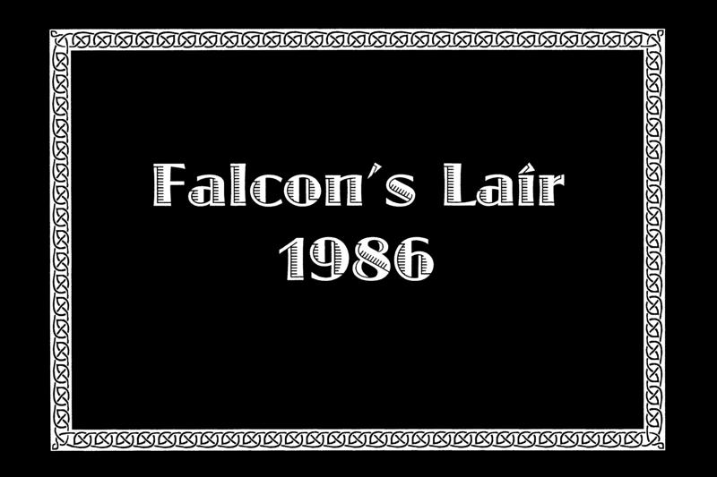 FALCON'S LAIR<br /> Mesquite, Texas - 1986