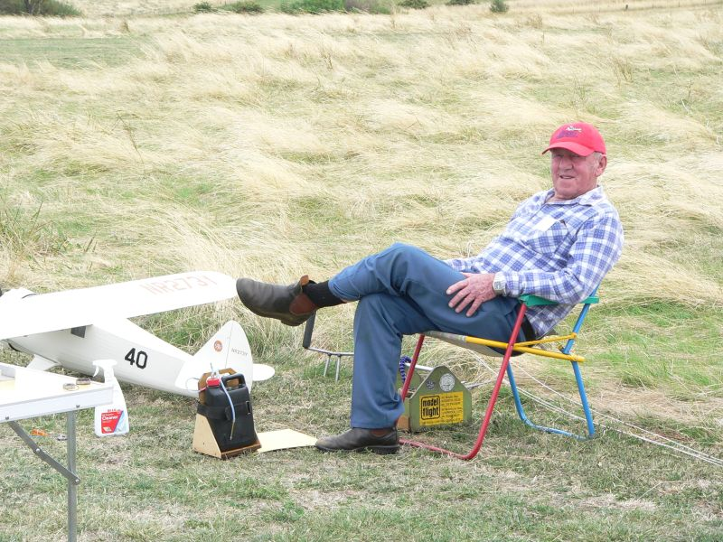 Jim Gibbons in 'Take it Easy Mode'