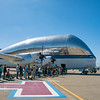 NASA's Aero Spacelines Super Guppy used to transport big stuff.