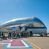 NASA's Aero Spacelines Super Guppy used to transport big stuff.