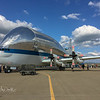 NASA's Aero Spacelines Super Guppy used to transport.