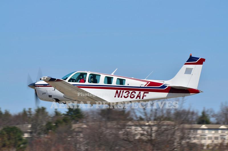 N136AF - 1981 Beech A36