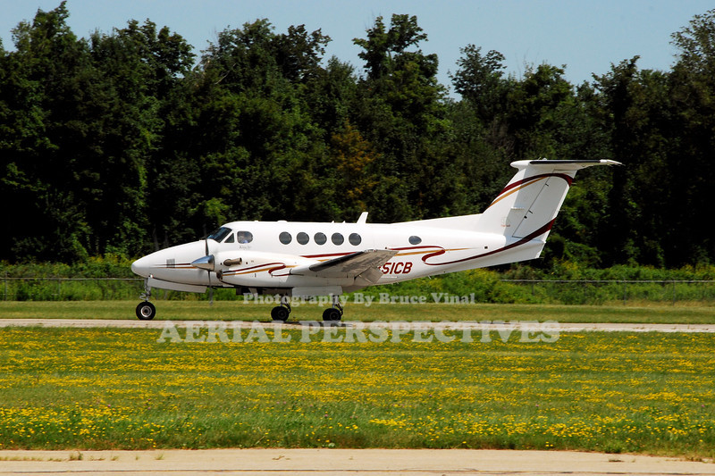N351CB - Beech B200 King Air