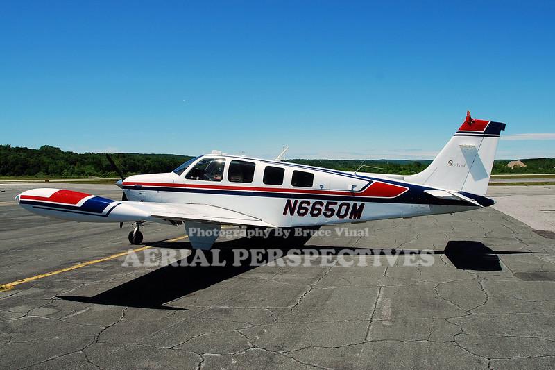 N6650M - 1979 BEECH A36 Bonanza