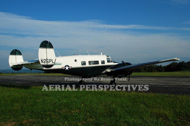 """N26PL - 1964 Beech H-18 """"Super 18"""""""