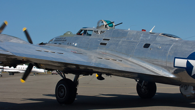 "B-17G ""Sentimental Journey"" from CAF Mesa"