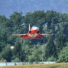 Patrouille Suisse F-5E landing at Emmen