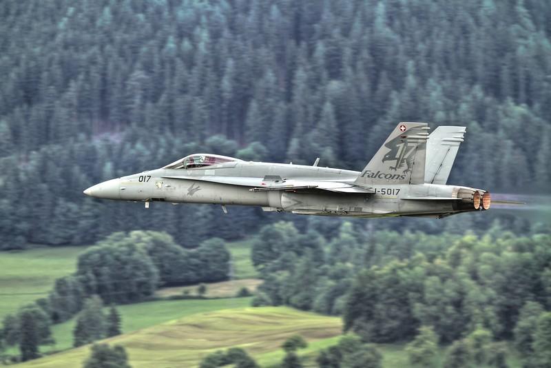 Swiss F/A-18C at Zeltweg 2011