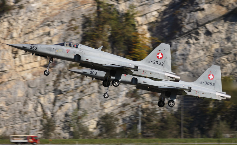 Swiss F-5E Tigers