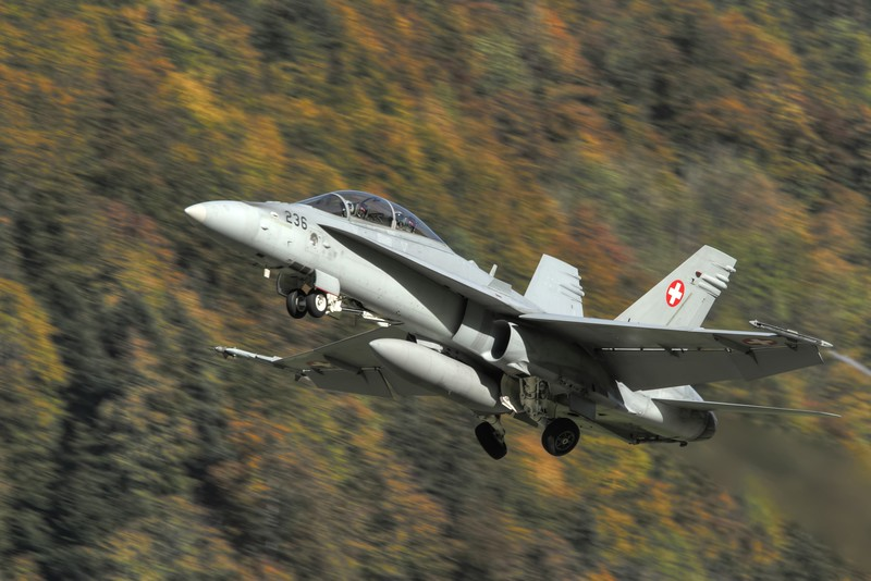 F/A-18D Meiringen October 2011