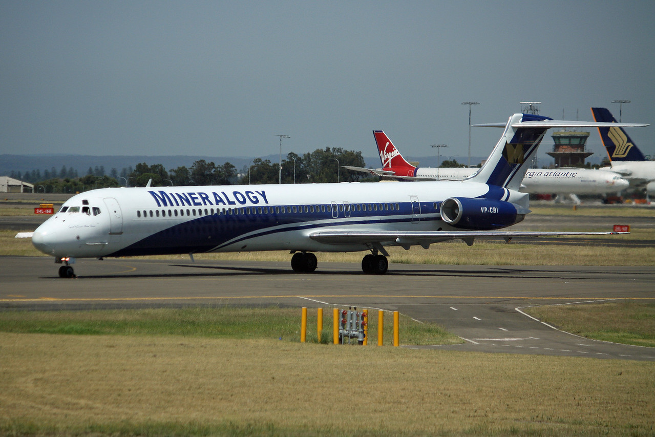Mineralogy McDonnell Douglas MD-82 VP-CBI