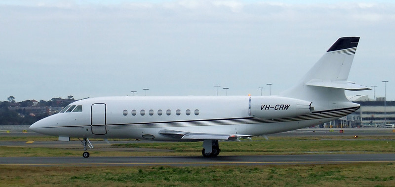 Sydney Jet Charter Dassault Falcon 2000EX VH-CRW