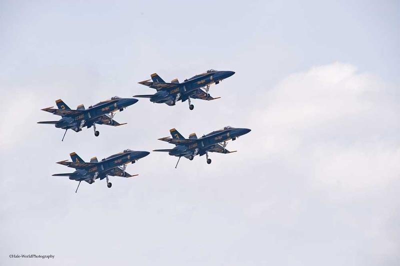 All Tailhooks Are Down Except CAPT Greg McWherter, Flight Lead/Commander