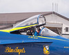 Lt David Tickle Prepares To Exit After Checking Out Blue Angel #4 After Maintenance The Prior Night