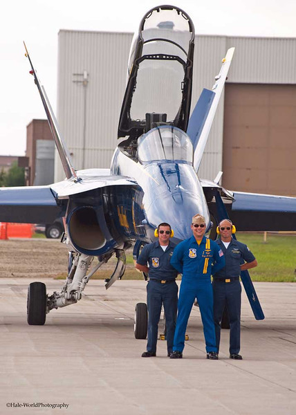 CAPT Greg McWherter Awaits His Pilots