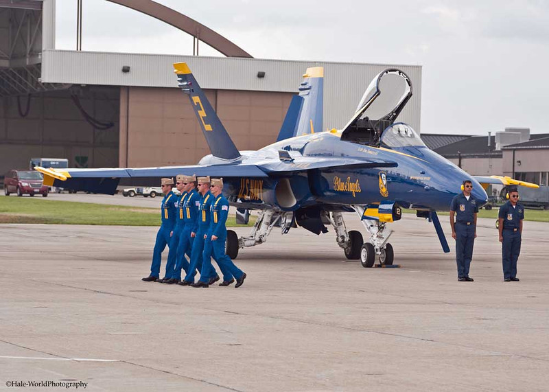 CAPT Greg McWherter's Pilots March To Him