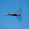 F/15 Approaches the Sound Barrier