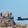 Blue Angels at Alcatraz