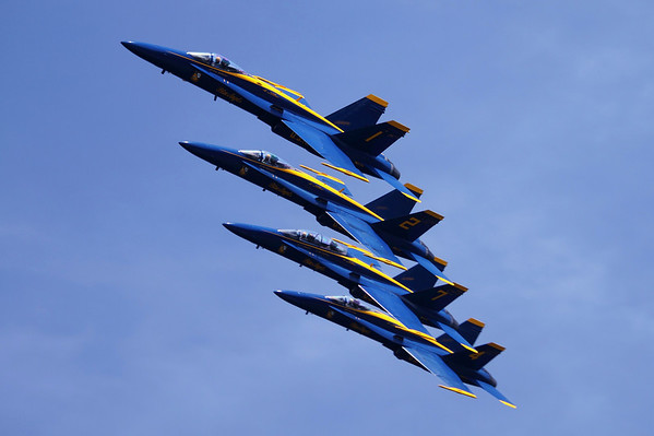 Blue Angels - Historic Charleston Harbor Air Show 2010