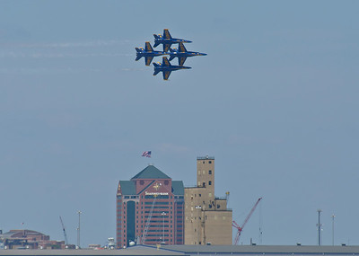 Blue Angels over Baltimore, June 16 - 17