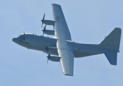 "Blue Angles C-130 ""ERNIE"".  Fat Albert is being overhauled"