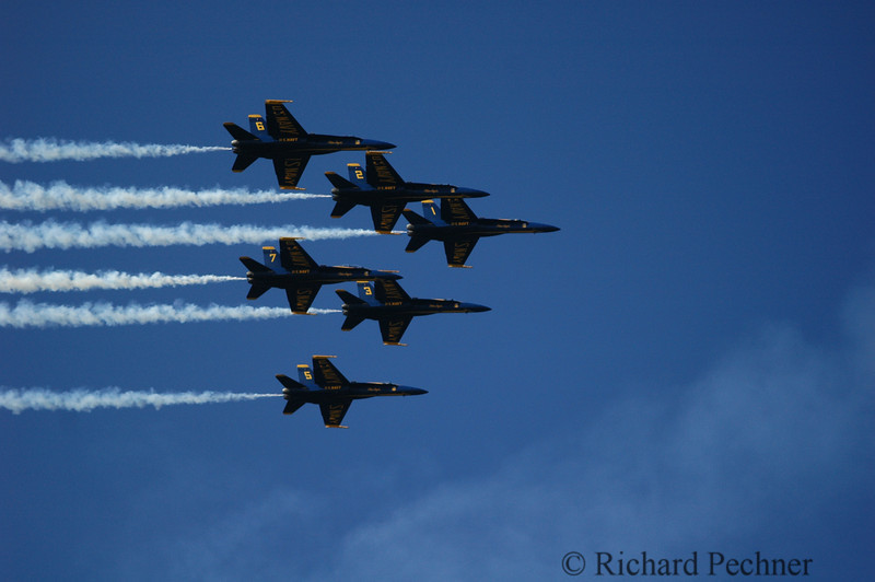 Blue Angels, Fleet Week, San Francisco