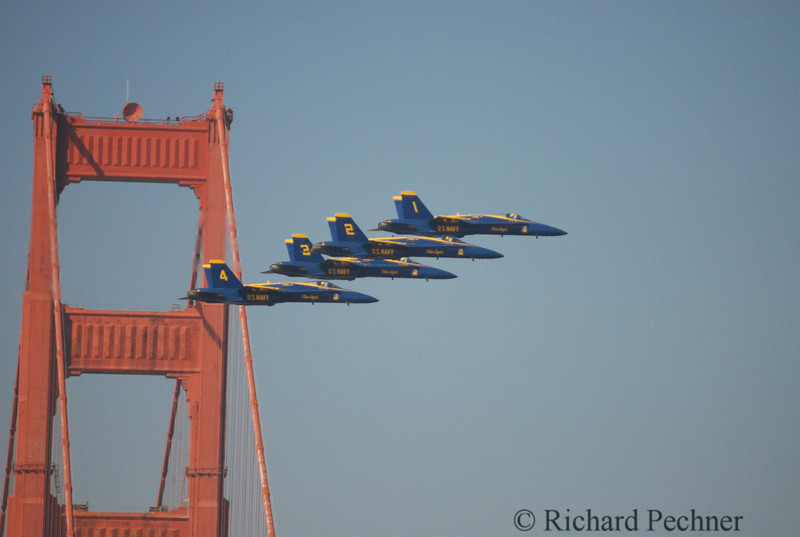 Blue Angels, Fleet Week, San Francisco