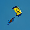 USN Seal Part of the Leap Frog Parachute Demonstration Team