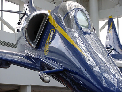 Blue Angels at the Pensacola Naval Air Museum