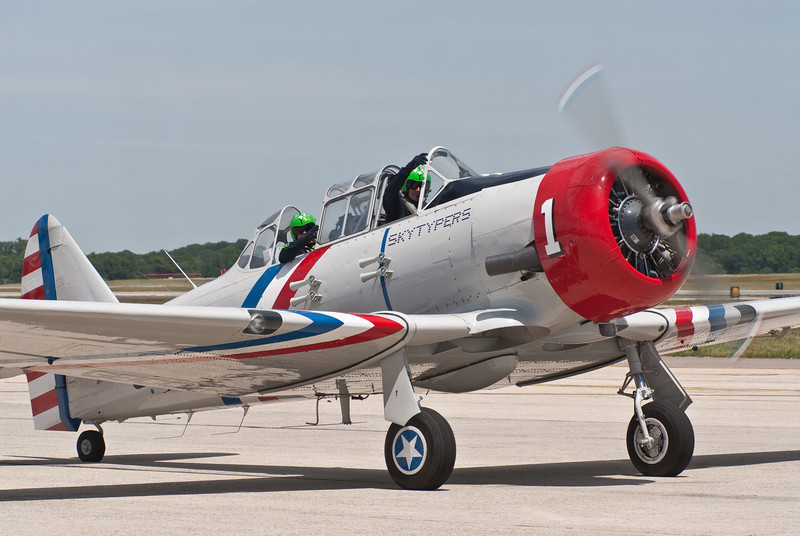 Geico SkyTypers #1 in the AT-6 Texan
