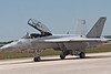 """F/A 18 SuperHornet of VFA-106 """"Gladiators"""" squadron from Oceana Naval Air Station"""