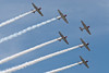 Geico SkyTypers in their AT-6 Texans