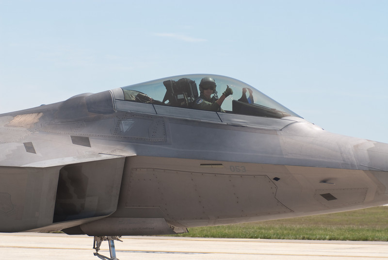 F-22 Raptor Pilot