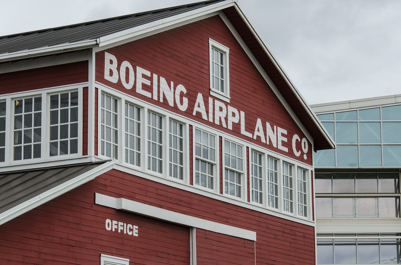 Boeing Airplane Company original factory.