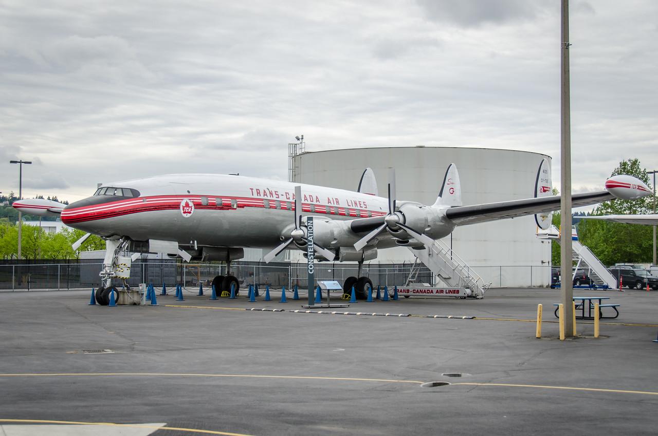 Lockheed 1049G Super Constellation