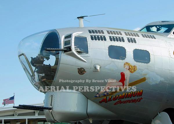 """1944 Boeing B-17G """"Aluminum Overcast"""""""