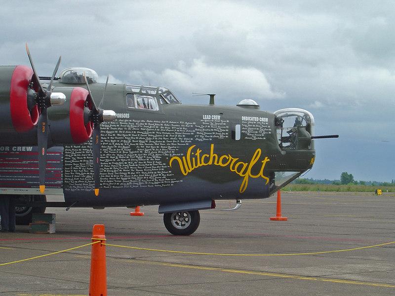 WWII Bombers in Corvallis, Oregon