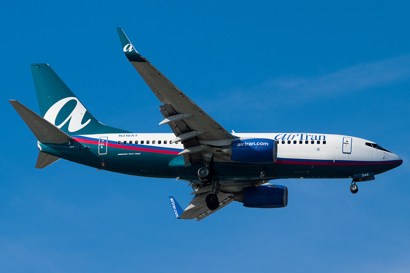 AirTran has 737 service in addition to 717 to BOS.