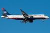 A Republic E-175 painted in US Airways Express colors on final for 4R.