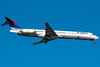 A Delta MD-88 on final for runway 4R. Sounds like an Oldsmobile.