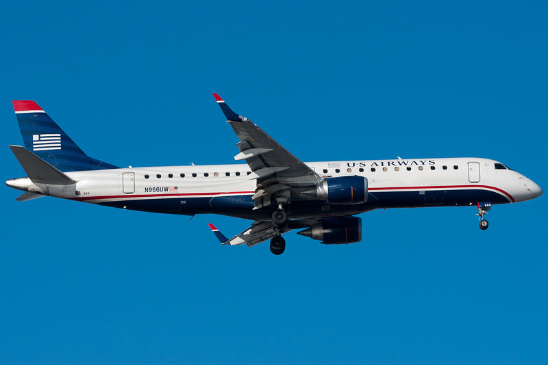 US Airways' E-190s are part of their mainline fleet.