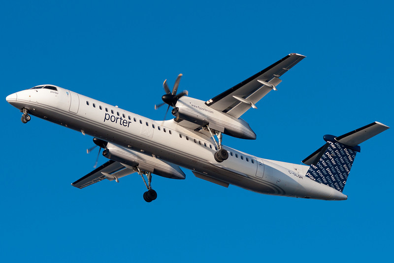 Porter Airlines has service from Toronto's city center airport to BOS.