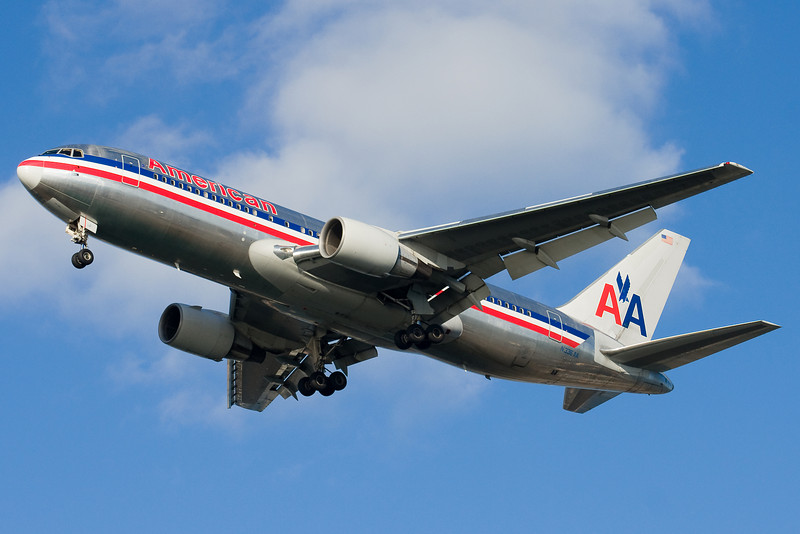 American uses its 767-200s for transcon operations to LAX.