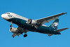 This US Airways A319 is painted in a Philadelphia Eagles colorscheme