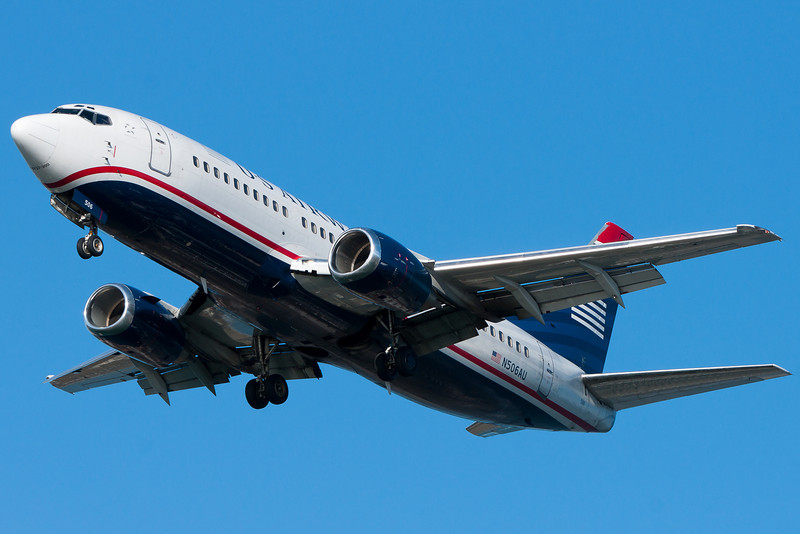 US Airways 737s seem less common here at BOS, but I'm not sure if I have facts to back up that statement.