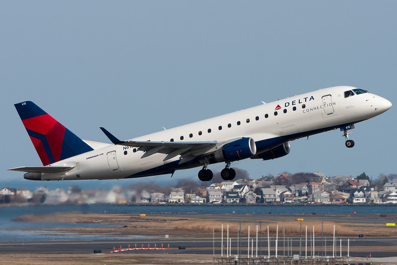 These Compass E-175s are now Delta Connection branded.