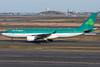 The Aer Lingus A330 is heading to the international gates.