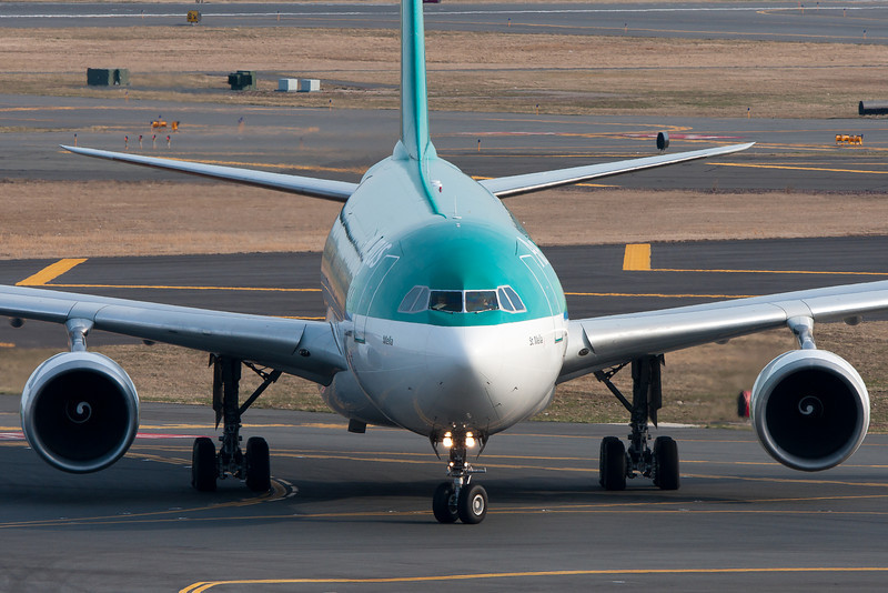 A headshot of an Aer Lingus A330.