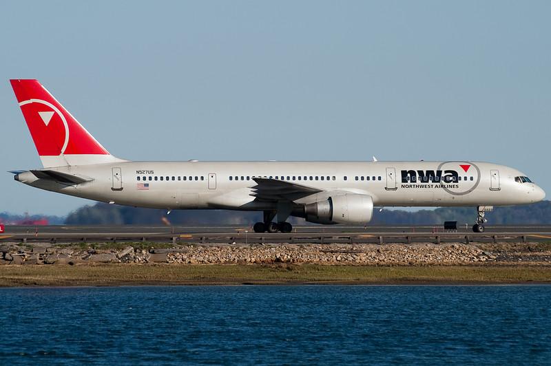 Northwest is the third major 757 operator into Boston.